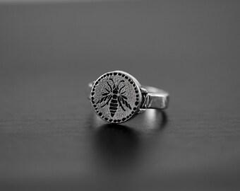Hornet Ring sterling silver