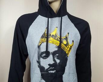 Tupac King Rangla Lightweight Jersey Hoodie