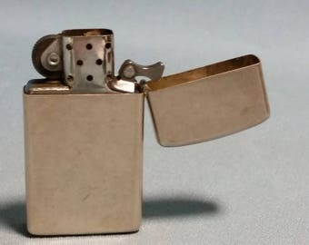 Sterling Zippo Lighter, Made in USA, Marked 1994