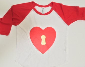 Key to My Heart Toddler Tee
