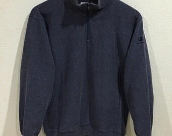 Sale!!! Rare!!! Vintage Champion Sweatshirt Small Logo Embroidered Small Size - SALE