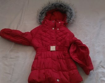 Girls Red sz 5 Special Needs Winter Coat