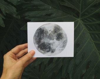 Moon Postcard Set