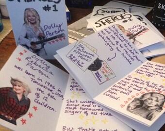 SHEROES #1 Dolly Parton Feminist Zine
