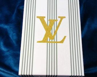 LV Designer inspired storage box