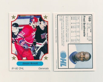 1991-92 OHL 7th Inning Sketch Oshawa Generals Team Set (24)