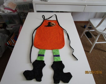 Child's Halloween Apron