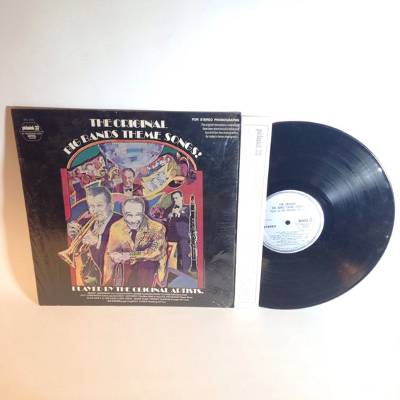The Original Big Bands Theme Songs! Played by the Original Artists - Vinyl Record - SPC-3235