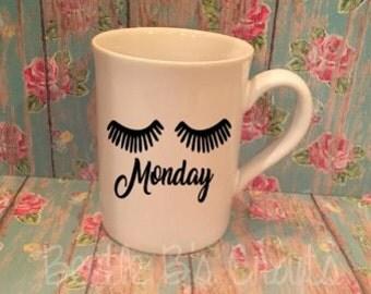 Ugh Monday, Funny Coffee Mug, Coffee Cup, Monday Coffee Mug