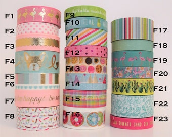 Pick your Sample! Washi Tape Samples (24 inches) by Recollections