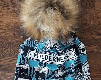 """Tuque """"Wilderness"""""""