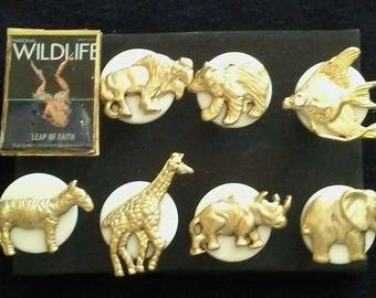 Wildlife Push Pins
