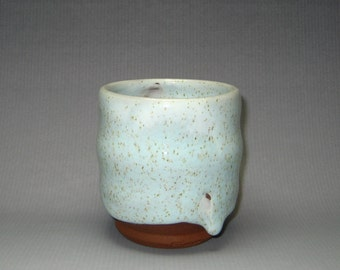 Ceramic Tea Bowl Handmade teacup Pottery yunomi white glaze Ceramic cup Yunomi Tea ceremony Japanese Tea Cup Yunomi Tea ceremony Green tea