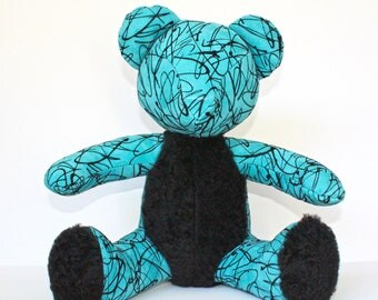 SOLD-Teddy Madrid Turquoise
