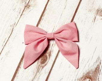 Pink Sailor Bow