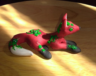Polymer Clay Red Fox