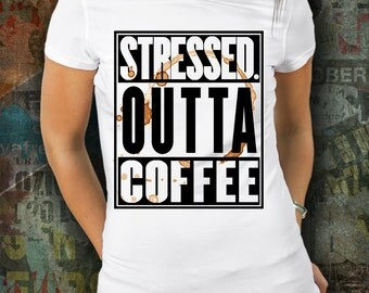Coffee Lover T shirt - Funny Quote - Funny t shirt - unique t shirt - t shirt - coffee addict shirt