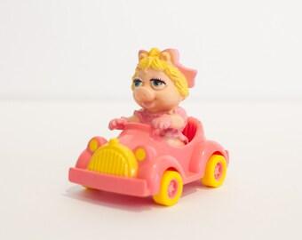 "1986 - Muppet Babies ""Miss Piggy"" McDonald's Toy Set #3 (Jim Henson)"