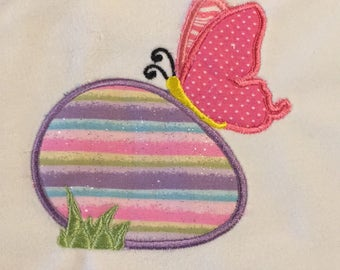 """Easter applique """"Butterfly and Egg"""""""