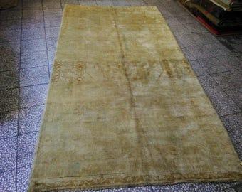 ouşhak rug overdyed rug   Rug, Handmade Antique Rug BROWN and Beige Rug, Anatolian Rug, Turkish Rug,  Handwoven Vintage Rug, Ethnic Area Rug