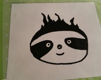 Sloth decal - Slothy