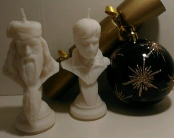 Dumbledore Harry Potter Candle Set - UNIQUE HANDMADE - Fantastic Beasts