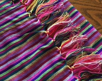 Rebozo - rainbow, multi color