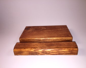Wood Smart Phone and Tablet Stand