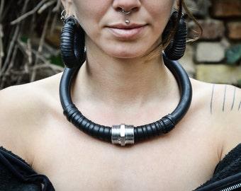 Necklace Handmade Upcycled Jewellery Urban Fetish Fashion