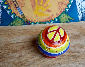 Peace Stone Paperweight
