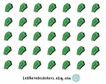 Paid Bills Planner Stickers