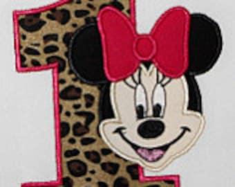 Cheetah Minnie Mouse