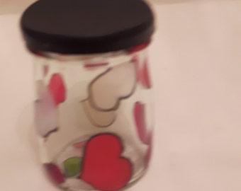 Little heart storage pot