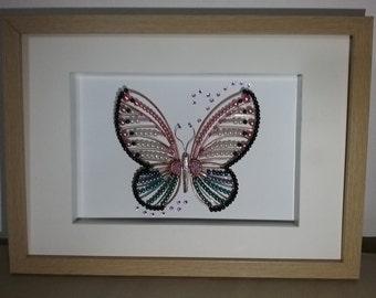 Butterfly rhinestone