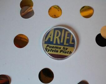 Sheet metal cover Ariel Sylvia Plath