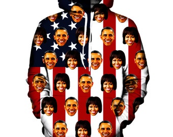 iTrendy Barack and Michelle Obama Hoodie