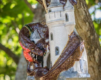 Dragon Castle Birdhouse