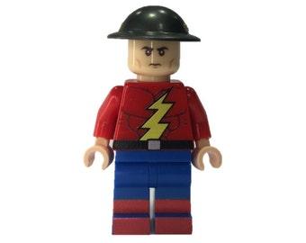 LEGO minifigures Custom-  Jay Garrick Made with Original LEGO Parts
