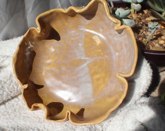 Handmade Large Porcelain Bowl