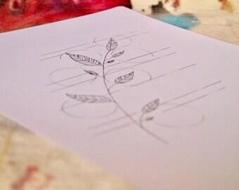Ink + Leaf