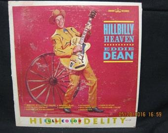 Eddie Dean Hillbilly Heaven - Crown Records