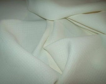 fabric, former rayon, a little creamy white