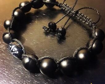 Onyx - Hand Woven - Beaded Bracelet