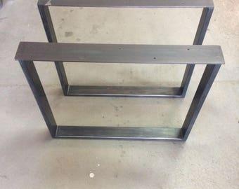U-Shaped Steel Table Legs