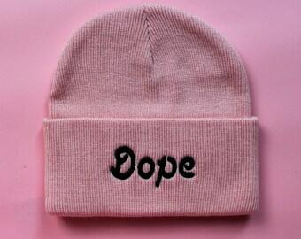 dope beanie - pink
