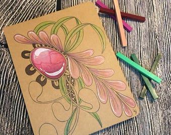 Mixed media journal/sketchbook