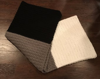 Chunky Color Block Blanket