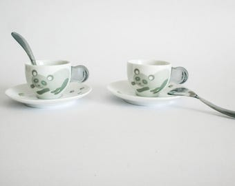 Guzzini Panda Coffee Cup Set - Made in Italy