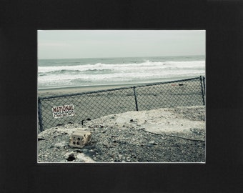 """Custom Matted Print 0204. """"Asbury Park, NJ"""" - Collectable Photographic Artwork. (11"""" x 14"""")"""