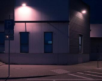 "night # 20-20 x 30 cm. Series ""at rest"""